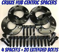 Alloy Wheel Spacers 15mm Bmw 1 2 3 4 5 SERIES M14X1.25 + Extended Bolts B Cruize