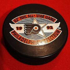 Philadelphia Flyers 1992  All Star Game Puck - Officially Licensed NHL Product