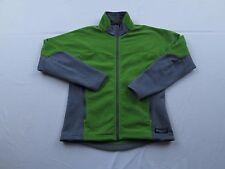 Womens REI Polartec Green Fleece Jacket Coat Size Small Full Zip Fall Spring