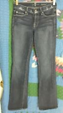 """7 FOR ALL MANKIND 27 BOOTCUT L 33"""""""