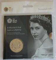 2018 £5 Five Pound Queens Saphire Anniversary Royal Mint BU Coin Pack