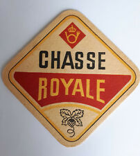 Chasse Royale -  Vintage Beer Mat 1960's / 70's