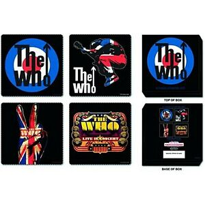 The Who (Band) 4 x drinks coaster set   (ro)