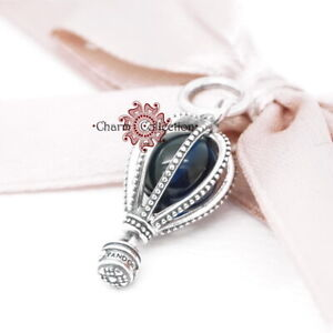 Pandora, S925 Blue Hot Air Balloon Travel Pendant Bracelet Charm NEW, 798064NMB