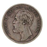 Raw 1877 EB Sweden 2 Kroner
