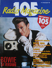 105 MAGAZINE 5 1990 David Bowie Anthony Ray Billy Idol Mike D'Antoni Bernardi
