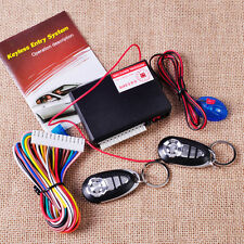 Car Auto Central Door Lock Keyless Entry System Control Kit 2 Remote Controller