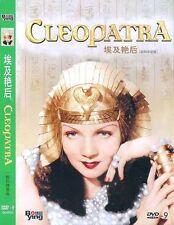 Cleopatra Claudette All Region DVD Colbert, Warren William, Henry NEW UK R2