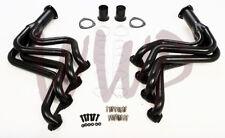 Black Coated Exhaust Header System 83-87 Ford F250/F350 7.5L Big Block 429-460Ci