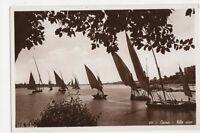Egypt, Cairo, Nile View RP Postcard, B201