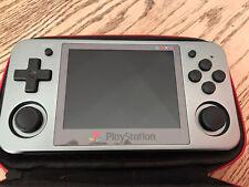 Anbernic rg350m handheld W/ Case NES snes ps1 sega emulation