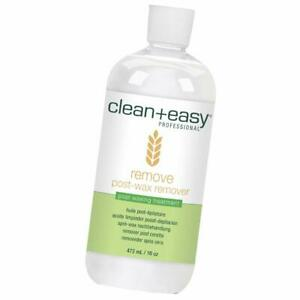 Clean + Easy Remove - After Wax Remover for the Skin with Wheat Germ Oil,16oz