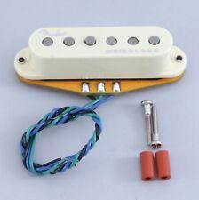 New Fender GEN 4 Noiseless Stratocaster Strat Guitar Middle Pickup AGED WHITE
