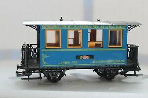 LGB G Scale Dining Car #3013 Voiture restaurant in Box Lehmann Trains