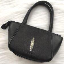STINGRAY Skin Handbag AUTHENTIC River GENUINE Stingray Skin Bag EUC HTF!