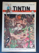Fascicule périodique Journal Tintin N° 29 1947 Laudy