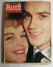 N30 Magazine Paris-Match N°620 25 février 1961 Alain Delon et Romy Schneider