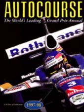AUTOCOURSE 1997-98 THE WORLD'S LEADING GRAND PRIX ANNUAL, 47th YEAR, NEW BOOK