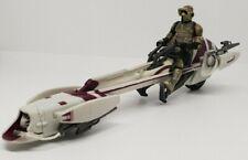 Star Wars Clone Wars Speedbike Hasbro Speeder Hasbro Hover + Orginal Rider