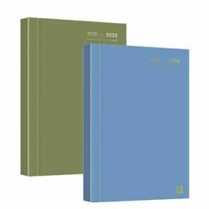 2021-2022 Diary A5 Day to Page Academic Diary Hardback Student Teacher Diary