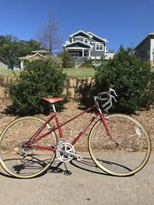 Vintage Nishiki Olympic 12 Mixte Bike. 1983 Made In Japan Tange Tubing, Brooks