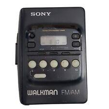Vintage Sony Wm-Fx20 Walkman Radio/Cassette CrO2/Metal Parts/Repair