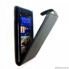 Flip Pouch Case for HTC Windows Phone 8X - Black