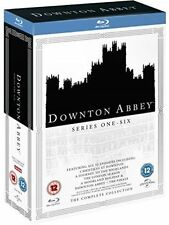 Downton Abbey Series 1 to 6 Complete Collection Blu-ray UK BLURAY