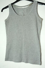 GREY LADIES CASUAL TOP VEST SIZE 10 INTERNACIONALE
