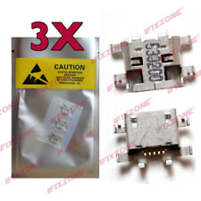 3 X New Micro USB Charging Port Motorola Moto G4 Plus XT1644 XT1643 XT1641 USA