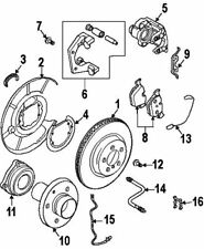 bmw other brakes for 2007 bmw 650i ebay Volkswagen Beetle Convertible 2003 bmw 34 21 6 768 471 repair kit brake pads
