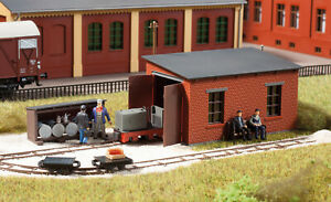 Auhagen 41708 Narrow-gauge engine shed H0f 1/87 scale plastic kit