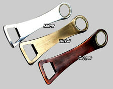 More details for hand jive shadow bar blade bottle opener copper nickel mirror custom engraved
