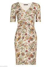 Marks and Spencer V Neck Regular Floral Dresses for Women