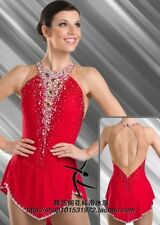 Red New Ice Skating Dress Girl's Woman Figure Skating Dress for competition
