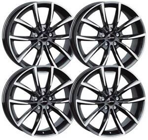 4 Autec ASTANA wheels 9x20 5x108 SWP for Volvo C70 S60 S80 S90 V40 V60 V70 V90 X