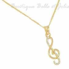 Gelbgold beschichtete Modeschmuck-Anhänger mit Strass-Perlen