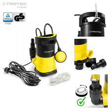 TROTEC Tauchpumpe TWP 4005 E Gartenpumpe Wasserpumpe Klarwasser Flachsaugend