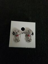 Snoppy Rhine studded Earrings