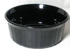 Corning Ware  F5B  French Black  1.6 Liter Round Casserole Baking Dish