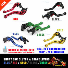 For Yamaha YZF R1 02 03 Short Adjustable Brake Clutch Levers Blue/Black/Gold/Red