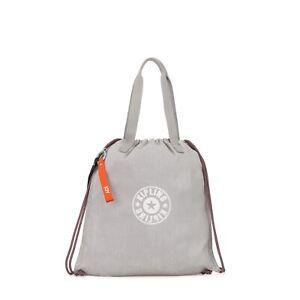 Kipling Kipling Small Shopper Bag NEW HIPHURRAY LIGHT DENIM SS19 RRP £58