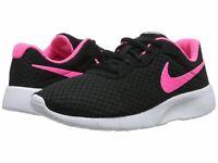 Nike TANJUN black Running women's shoes 6.5 Black/Hyper Pink-White 818384-061