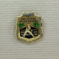 DODGERS UNOCAL 76 NO HITTERS IN LA PIN #4 MLB Vintage Los Angeles 1991 koufax