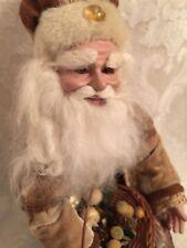 "Santa Elf Pixie Doll Figurine 10"" Christmas Holiday Decor"