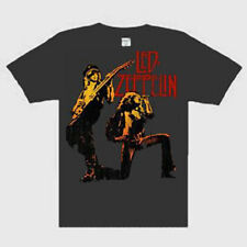 Led Zeppelin - Color Burst  Music punk rock t-shirt  MEDIUM NEW