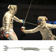 Cw_ 3-Pin Plug Fencing Match Sabre Foil Epee Body Cord Cable Hand Line Equipment