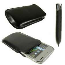Smartphone / Feature-Phone Case for Nokia E6-00  Pouch Protective Cover in black