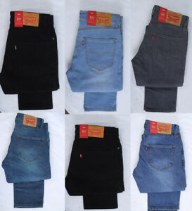 Levis 511 Men Jeans Multi Sizes Brand New Comfort Stretch Fit Zip Tapered UK
