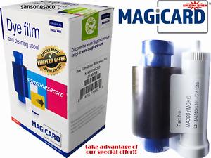Cinta Magicard Dye Film MA300YMCKO. 300 Imagenes Por Cinta. Original De Japon.
